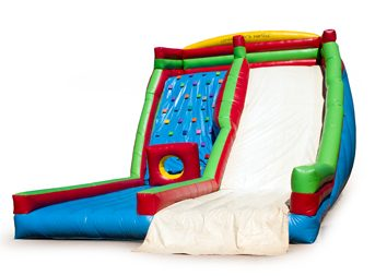 Climbing Wall and Slide