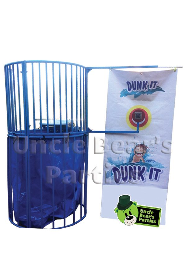 dunk tank blue